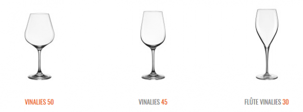 Collection Verres Vinalies